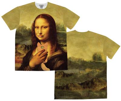 Mona Lisa Selfie (Front/Back) Sublimated
