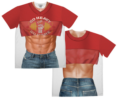 Take Your Shirt Off (Front/Back) Sublimated