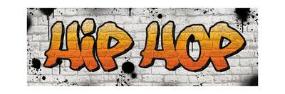 Hip Hop Graffiti Photographic Print by N. Harbick
