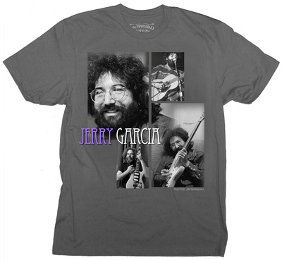 Jerry Garcia- Playing with a Smile Montage T-shirts