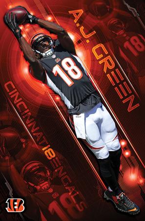 NFL: Cincinnati Bengals- A.J. Green 16 Posters