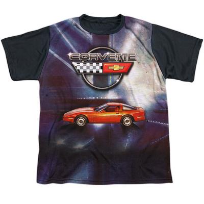 Youth: Chevrolet- Race Redy Corvette Black Back T-Shirt