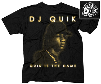 DJ Quik- Quik Is The Name (FrontBack) T-shirts