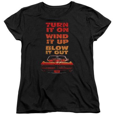 Womens: Pontiac- Blow It Out Gto T-Shirt