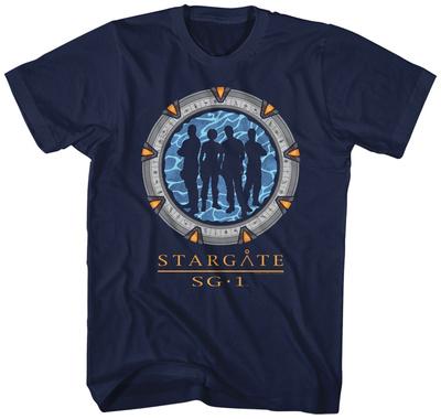 Stargate- Silhouette Gate T-shirts