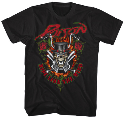 Poison- Ride Like The Wind Shirt
