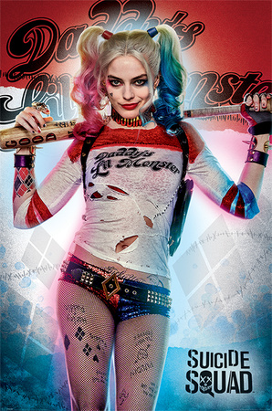Suicide Squad- Daddy's Lil Monster Plakat