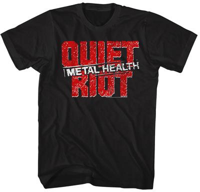Quiet Riot- Distressed Metal Health T-Shirt