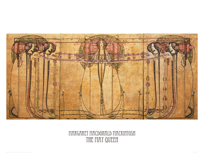 The May Queen Giclee Print by Margaret Macdonald Mackintosh