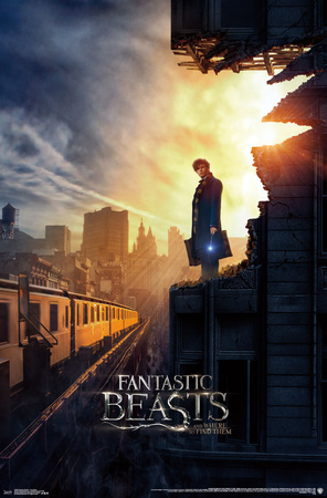 Fantastic Beasts And Where To Find Them Póster