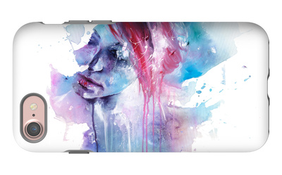 Memory iPhone 7 Case by Agnes Cecile