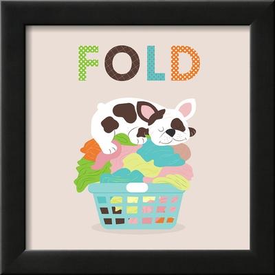 Laundry Fold Poster by Tiffany Everett