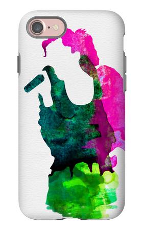 Gwen Watercolor iPhone 7 Case by Lora Feldman