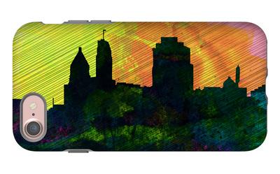 Cincinnati City Skyline iPhone 7 Case by  NaxArt!