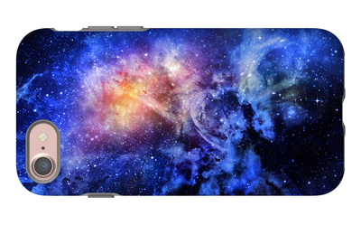 Starry Deep Outer Space Nebual and Galaxy iPhone 7 Case by  clearviewstock