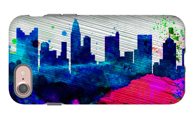 Columbus City Skyline iPhone 7 Case by  NaxArt