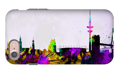 Hamburg City Skyline iPhone 7 Case by  NaxArt