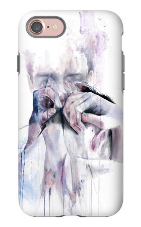 Gestures iPhone 7 Case by Agnes Cecile