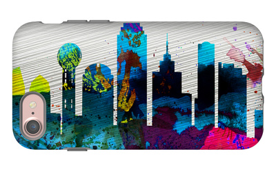 Dallas City Skyline iPhone 7 Case by  NaxArt