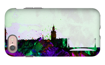 Stockholm City Skyline iPhone 7 Case by  NaxArt