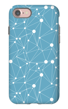 Abstract Geometrical Background iPhone 7 Case by  lolya1988
