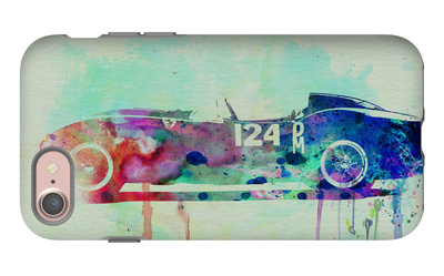 Ferrari Testa Rossa Watercolor 2 iPhone 7 Case by  NaxArt