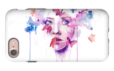 About a New Place iPhone 7 Case by Agnes Cecile