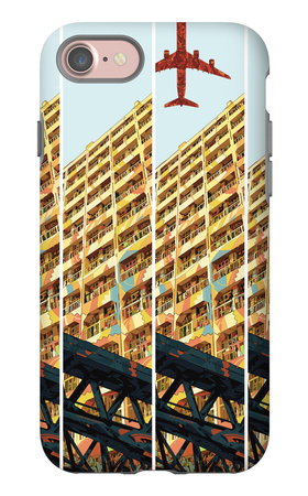 Yellow iPhone 7 Case by  HR-FM