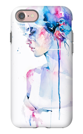 2 + 2 = 5 iPhone 7 Case by Agnes Cecile
