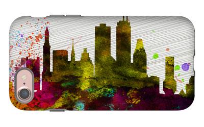 Boston City Skyline iPhone 7 Case by  NaxArt