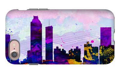 Atlanta City Skyline iPhone 7 Case by  NaxArt