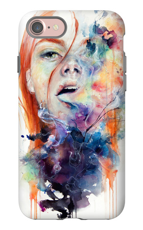 This Thing Called Art Is Really Dangerous iPhone 7 Case by Agnes Cecile