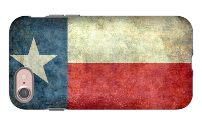 Texas State Flag iPhone 7 Case by Bruce stanfield