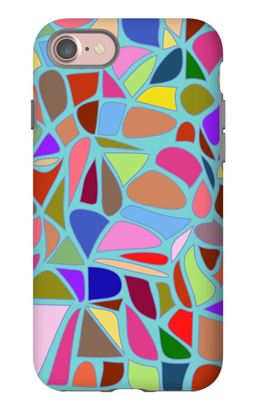 The Of Abstract Geometrical iPhone 7 Case by  MritaX