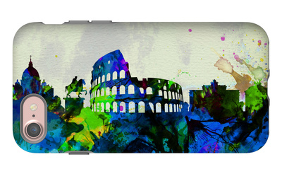 Rome City Skyline iPhone 7 Case by  NaxArt
