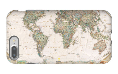 World Political Map, Executive Style iPhone 7 Plus Case by  National Geographic Maps