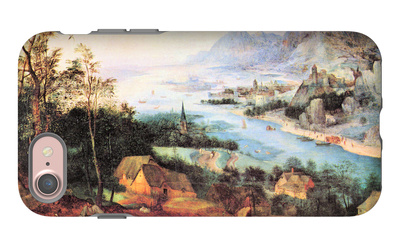 River Landscape with a Sower iPhone 7 Case by Pieter Bruegel the Elder
