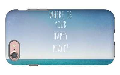 Where Is Your Happy Place iPhone 7 Case by Susannah Tucker