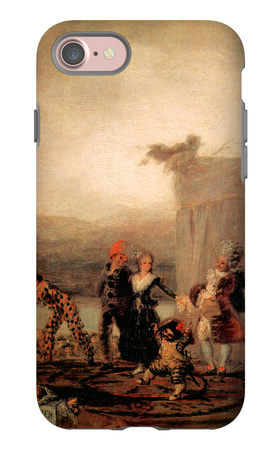 Comicos Ambulantes iPhone 7 Case by Francisco de Goya