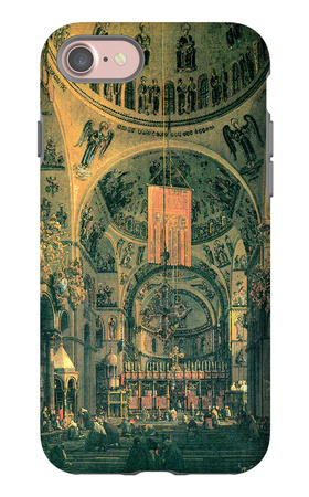 San Marco, Inside View iPhone 7 Case by  Canaletto