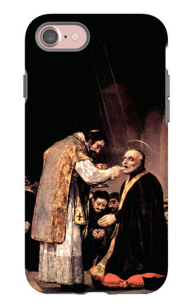 The Last Communion of St. Joseph of Calasanza iPhone 7 Case by Francisco de Goya