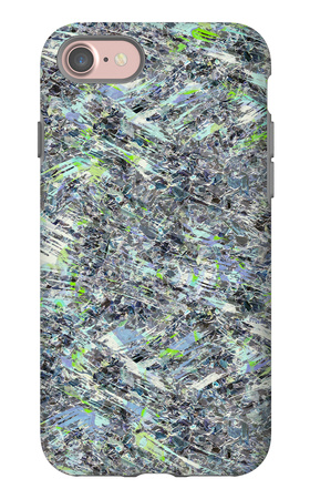 Psychedelic Seamless Pattern iPhone 7 Case by Alexandra Khrobostova