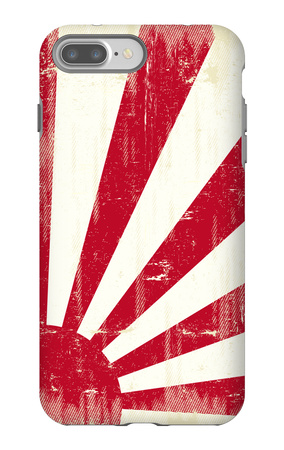 Grunge Japan Flag. An Old Japan Grunge Flag For You iPhone 7 Plus Case by  TINTIN75
