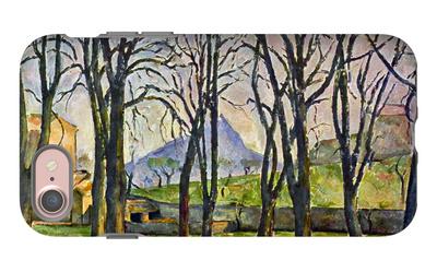 Chestnut Trees in Jas De Bouffan iPhone 7 Case by Paul Cézanne