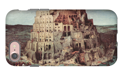 Tower of Babel iPhone 7 Case by Pieter Bruegel the Elder