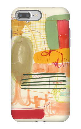 Abstract Drawing 12 iPhone 7 Plus Case by Jaime Derringer