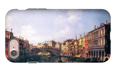 The Rialto Bridge from the South iPhone 7 Case by  Canaletto