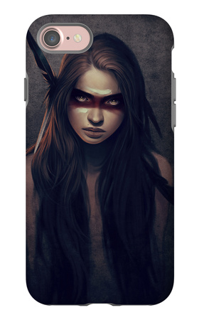 Howl iPhone 7 Case by Charlie Bowater