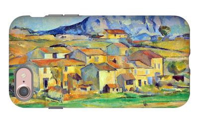 Mont Sainte-Victoire iPhone 7 Case by Paul Cézanne