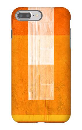 Orange Paper 2 iPhone 7 Plus Case by  NaxArt
